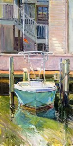 Docked 20x10 oil on canvas by Crystal Moll (002)